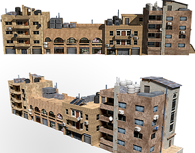 3D middle east buildings arabic