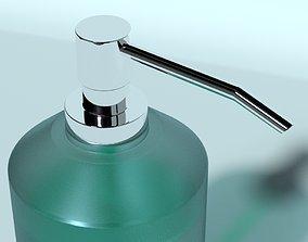 Soap dispenser bottle bath 3D model