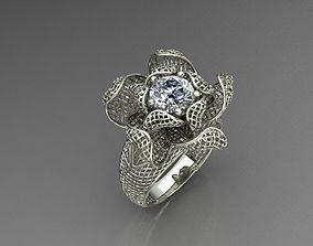 3D printable model lattice ring