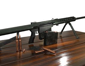 Barrett M82A1 3D printable model