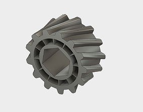 Helical Gear 3D print model