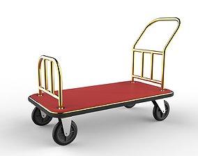 Hotel Trolley 04 3D