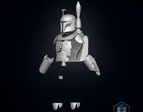 Boba Fett Armor 3D print model