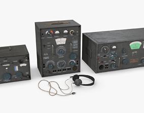3D asset German Radio WWII