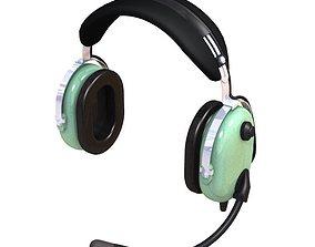 3D model Pilot Headset