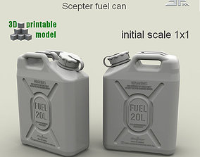3D printable model SPM-003-01Print Scepter Fuel Can