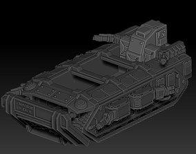 3D print model GARGANTHIA infantry large transport