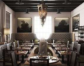 3D model La V Restaurant in Austin Texas
