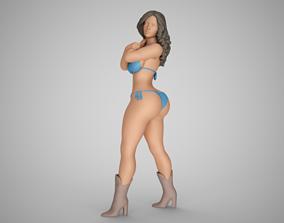 Girl in Nature 3D printable model