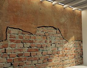 Brick wall Old brick 58 3D