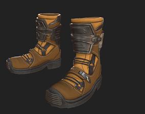 3D model Scifi boots