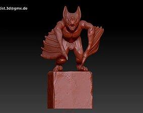Gargoyle gothic 3D printable model