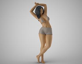 3D printable model Woman Holding Wrist