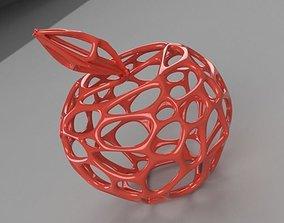 3D print model Apple Wireframe Style printable