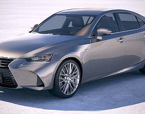 3D Lexus IS 2017