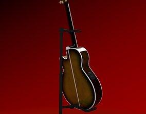3D Acoustic Electric Guitar