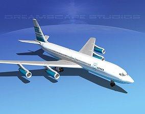 3D model Boeing 707 Corporate 6