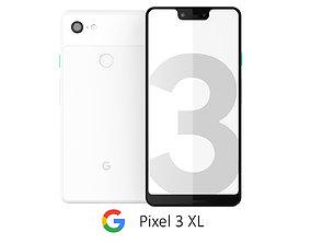 Google Pixel 3 XL White 3D