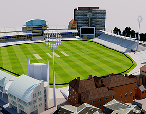 Trent Bridge Cricket Ground - Nottingham 3D model