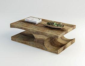 3D model VR / AR ready Coffee table Goa