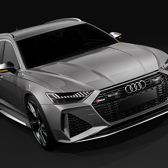 Audi RS6 Keyshot Light