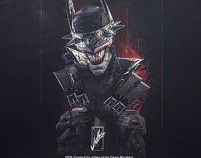 Batman Who Laughs Bust01 3D print model