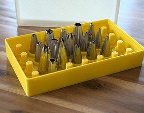 3D print model Pastry nozzles box