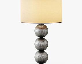 Three Orb Table Lamp 3D model