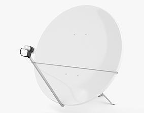 3D Satellite Dish tv