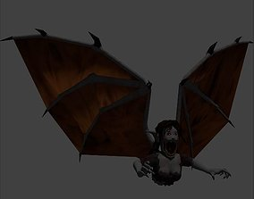 3D asset Manananggal - Philippine vampires