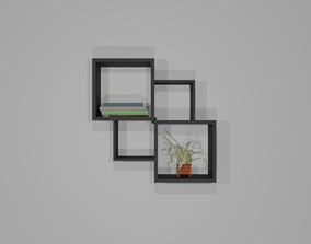 3D asset shelf shelve