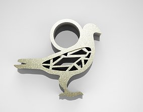 Pigeon Pendant 3D print model