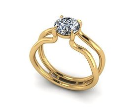 3D print model bangle Wedding Ring R011