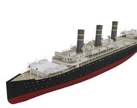 3D model RMS American II