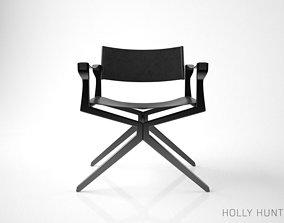 Holly Hunt Haka Director Chair 3D