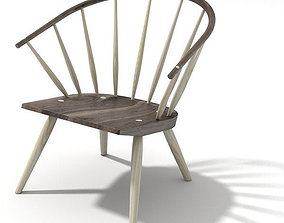 3D model contemporary Burnham Windsor chair