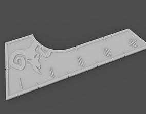3D print model Warcry ruler untamed beasts