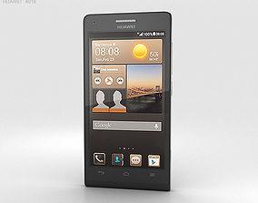 Huawei Ascend G6 Black 3D model