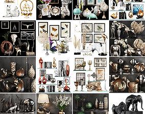 Collection Decoration sets Vol 05 3D model