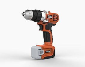Black Decker codless Drill 3D