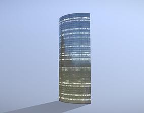 Building Frankfurt Skyper 3D asset