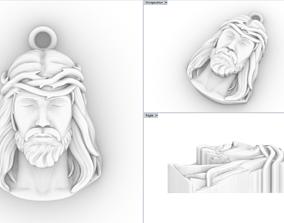 Jesus pendant jesuschrist 3D printable model