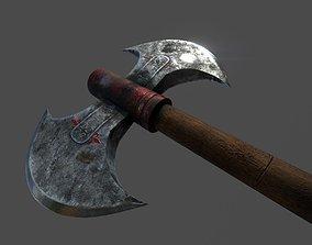 Ancient axe 3D asset