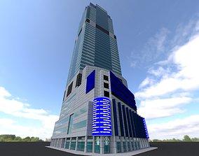 3D asset Morgan Stanley Building New York