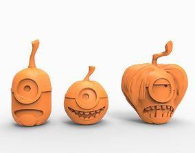 Pumpkin minion 3D printable model