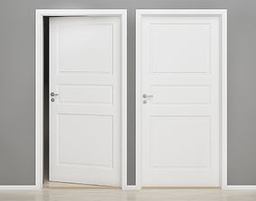 Interior door 01 3D