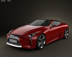 3D model Lexus LF-LC 2012