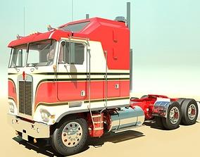 K100c Semi Truck 3D