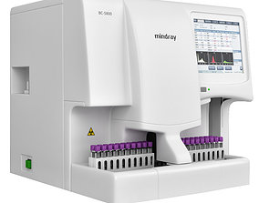 Hematology Analyzer Mindray BC5800 3D model