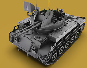 3D M42 Duster 40mm Self-Propelled Anti-Aircraft Gun